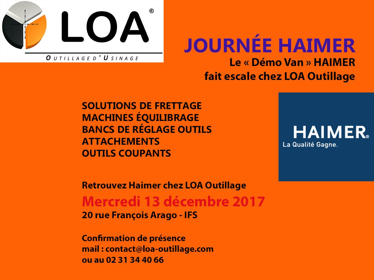 Haimer vient à Caen
